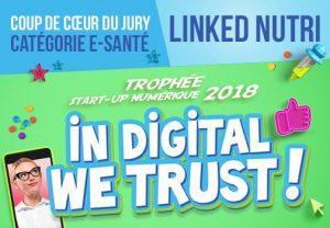 Linked-Nutri Winner announcement